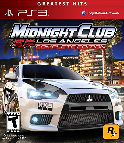 Midnight Club: Los Angeles - Greatest Hits - Complete Edition - Playstation 3 (Car Games Ps3 compare prices)