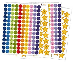 The Victoria Chart Company Reward Stickers (Can Be Used with My Big Star Reward Chart, Potty Training Chart and Sleep Reward Ch