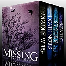 The Missing Super Boxset: A Collection Of Riveting Mysteries Audiobook by James Hunt Narrated by Tia Rider Sorensen, Ramona Master, Gwendolyn Druyor