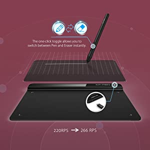XP-Pen G640 6 x 4 inch Graphic Drawing Tablet/Pen Tablet for OSU