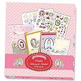 Artículos infantiles de papelería Rosalie Djeco con pegatinas para decorar. Niñas mayores de 7 años.