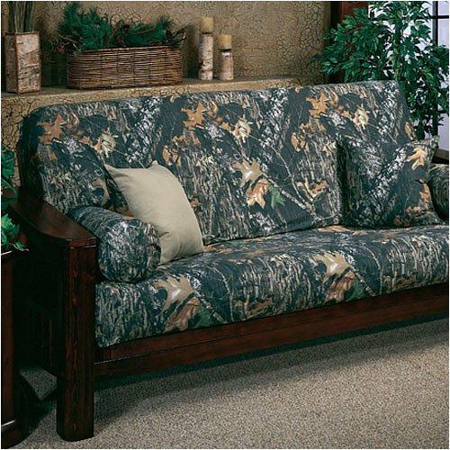 camouflage futon cover mossy oak new break