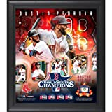Dustin Pedroia Boston Red Sox 2013 MLB World Series Champions Framed 15'' x 17'' Collage with Game-Used Baseball