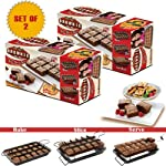 "Allstar Marketing Group PB011106 ""As Seen On TV"" Perfect Brownie Pan Set (Set of 2)"