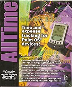 AllTime: Time and Expense Tracking for Palm OS Devices