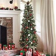 Brylanehome 7′ Pre-Lit Christmas Tree…