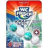 WC Frisch Kraft-Aktiv Duftspüler frischer Eukalyptus-Duft, WC Frische, 10er Pack (10 x 1 Stück)