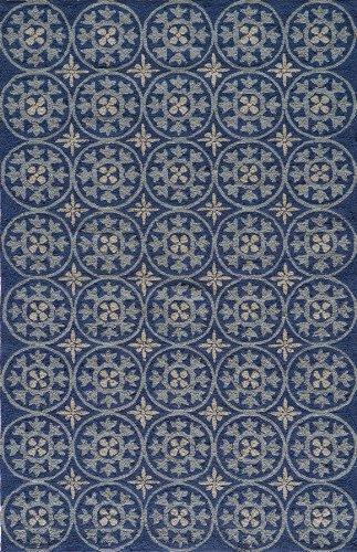 Veranda Collection Veranvr-26Blu80A0 Area Rug