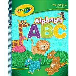 Downloads Crayola Spiral Wipe Off - Alphabet ebook