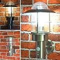 Au�enleuchte Aussenlampe Wandleuchte Hausbeleuchtung Wegeleuchte Bewegungsmelder BM 251B