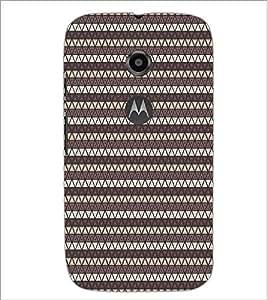 PrintDhaba Pattern D-5902 Back Case Cover for MOTOROLA MOTO E2 (Multi-Coloured)