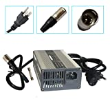 24V 5A Battery Charger with XLR Connector for Wheelchairs, Pride Mobility, Jazzy Power Chair, Drive Medical, Golden Technologies, Shoprider, Rascal 200T/500T/301 PC/314/318 PC/320 PC/326/326A/710 PC