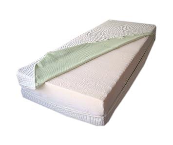 matelas m moire 180x200 3 couches couches 25cm d 39 paisseur avec sous housse sous housse. Black Bedroom Furniture Sets. Home Design Ideas
