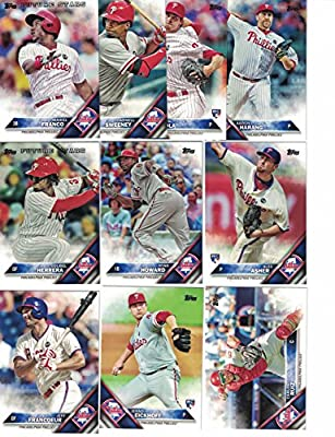 Philadelphia Phillies / Complete 2016 Topps Series 1 Baseball Team Set. FREE 2015 Topps Phillies Team Set WITH PURCHASE!