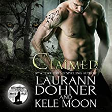 Claimed: Nightwind Pack, Book 1 Audiobook by Kele Moon, Laurann Dohner Narrated by Jessee Foudray