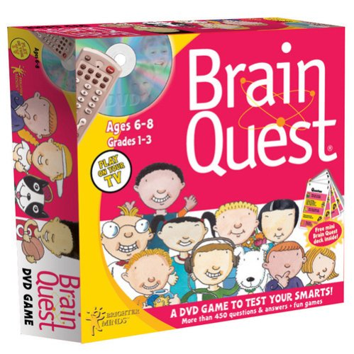Brain Quest DVD Game: Ages 6-8 - 1