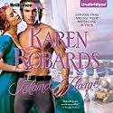 Island Flame Audiobook by Karen Robards Narrated by Justine Eyre
