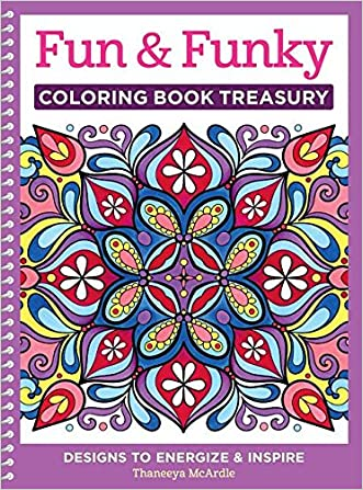 Fun & Funky Coloring Book Treasury: Designs to Energize and Inspire (Coloring Collection)