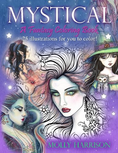 Mystical - A Fantasy Coloring Book