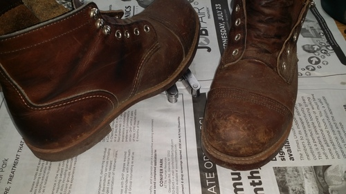 Amazon.com: Red Wing Heritage 6 Inch Iron Ranger Boot: Shoes
