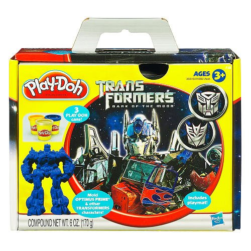 Play Doh Playset Transformers Dark Side of the Moon