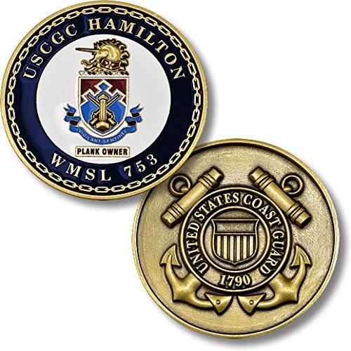 USCGC Hamilton (WHEC-753) Challenge Coin