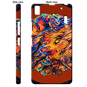 TGK™ Abstract Art Peace Handshake Back Cover Case for Lenovo A7000 TURBO - Multicolor