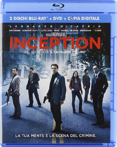 Inception (2 Blu-ray+DVD+copia digitale) [IT Import]