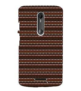 EPICCASE ethnic pattern Mobile Back Case Cover For Moto X 3rd Gen (Designer Case)