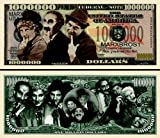 THE MARX BROTHERS Novelty Commemorative Million Dollar Bill w/ Bill Protector