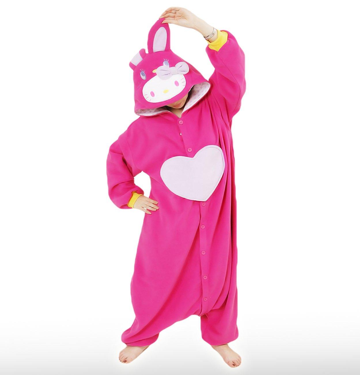 Hello Kitty Costume (Kigurumi) - Dark Pink