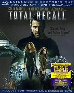 Total Recall 4 Disc LIMITED EDITION EXTENDED DIRECTOR'S CUT - Blu-ray (2 Disc) / DVD / Ultraviolet / BONUS Disc