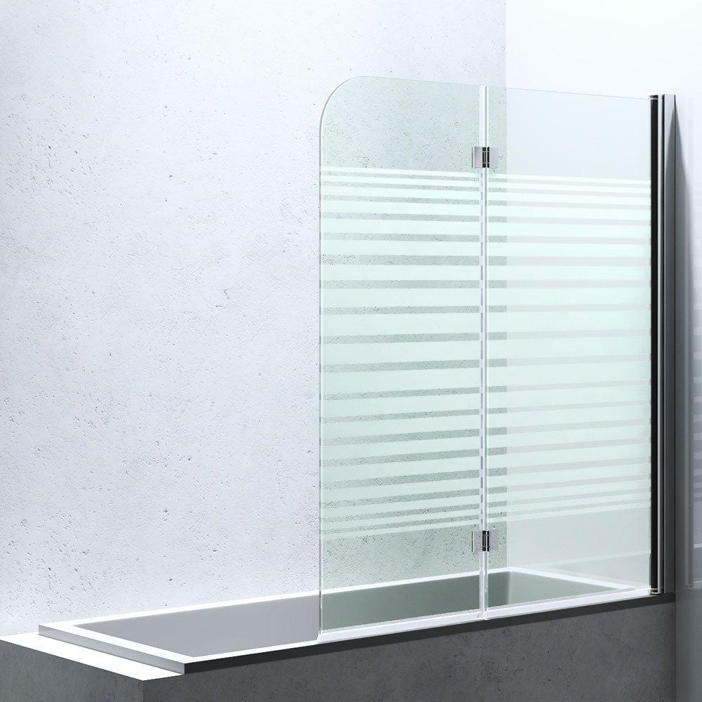 141x108 cm Duschabtrennung / Duschwand für Badewane aus Glas Cortona1408S, inkl. Nanobeschichtung, Badewannenfaltwand  BaumarktÜberprüfung und Beschreibung