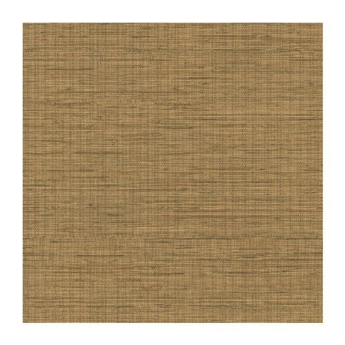 York Wallcoverings By The Sea Fn3733 Faux Grasscloth Wallpaper, Light Brown front-304143
