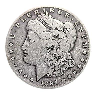 Morgan Dollar Circulated 1878-1904 Dollar Very Good