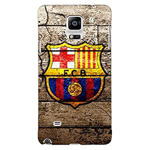 Jugaaduu Barcelona Back Cover Case For Samsung Galaxy Note 4