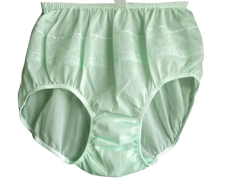 Frauen Höschen Unterwäsche Grün PJGN Green Underwear Panties Knickers Nylon Ladies günstig bestellen