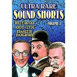 Ultra Rare Sound Shorts, Volume 2
