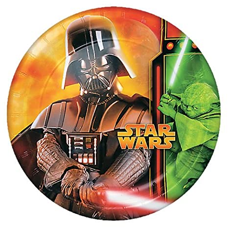 Star Wars Episode Iii Lunch Dinner Plates 8pcs Party
