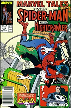 """Marvel Tales #214 : Starring Spider-Man and Nightcrawler in """"And the"""