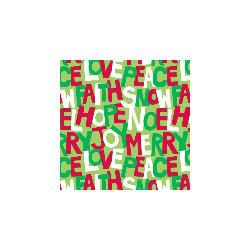 The Gift Wrap Company Jumbo Roll of Premium Graphic Greetings Gift Wrap, Festive Faves, 10 Feet Long (76 5182)
