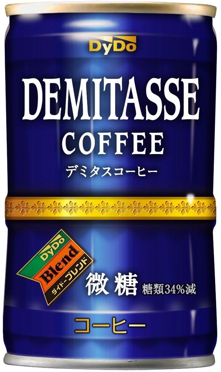 ダイドードリンコ ダイドーブレンド デミタス微糖 150g×30本