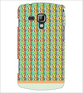 PrintDhaba Pattern D-1219 Back Case Cover for SAMSUNG GALAXY S DUOS S7562 (Multi-Coloured)