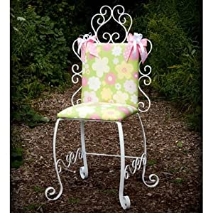Luxurious Little Girl's Chair - Color: As Shown - Indoor Use from Ababy