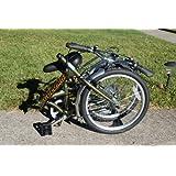 "Columba 20"" Steel Folding Bike w. Shimano 7 Speed Olive (LW20S_OLV)"