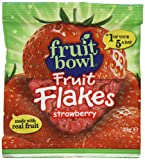 Fruit Bowl Fruit Flakes Strawberry 20 g (Pack of 24)