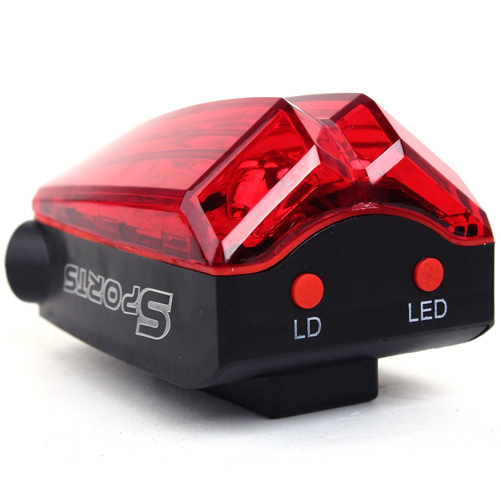 Luz con proyección de rayo para bicicleta