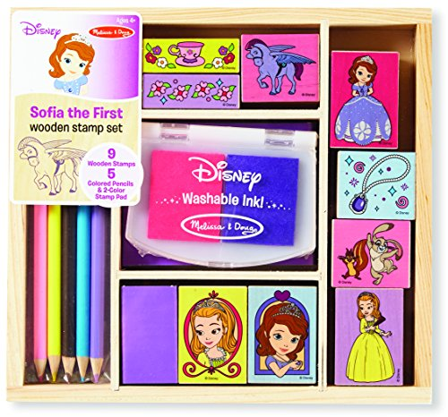 Sofia the First Wooden Stamp Set
