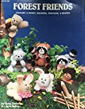img - for Forest friends: Crochet a bunny, squirrel, raccoon, & beaver book / textbook / text book