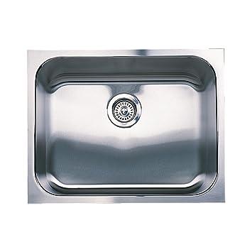 Blanco 501-104 Spex Single Bowl Undermount Kitchen Sink, Satin Finish